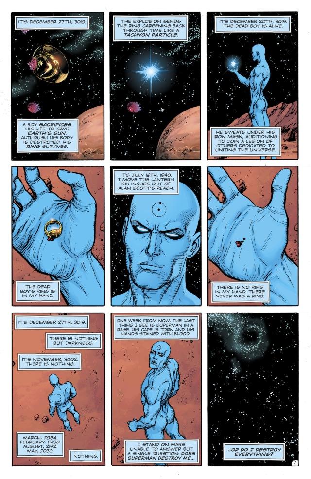 《毁灭日时钟》第9期发售 曼哈顿博士打败超级英雄联军